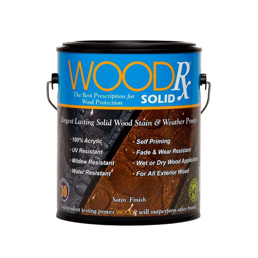 1 gal. Cedar Solid Wood Exterior Stain and Sealer