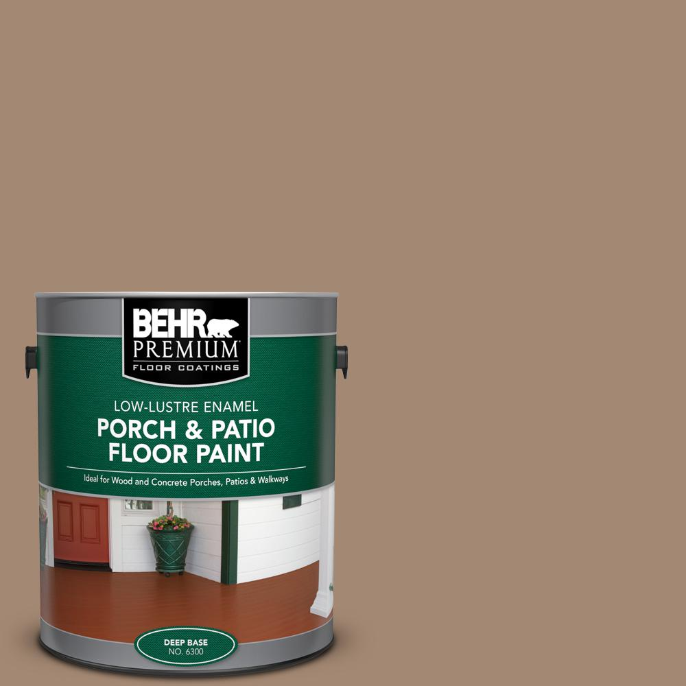 1 gal. #PFC-19 Pyramid Low-Lustre Enamel Interior/Exterior Porch and Patio Floor Paint
