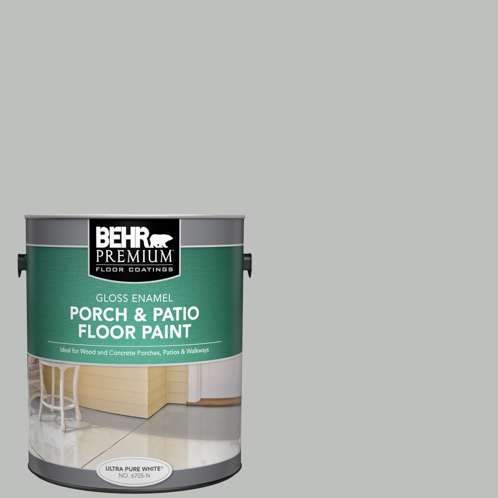 1 gal. #PFC-62 Pacific Fog Gloss Enamel Interior/Exterior Porch and Patio Floor Paint