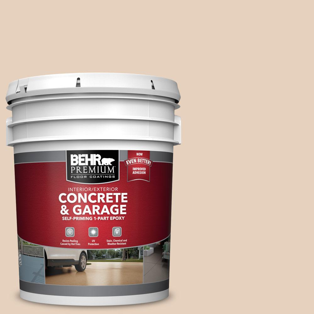 5 gal. #PFC-11 Inviting Veranda 1-Part Epoxy Satin Interior/Exterior Concrete and Garage Floor Paint